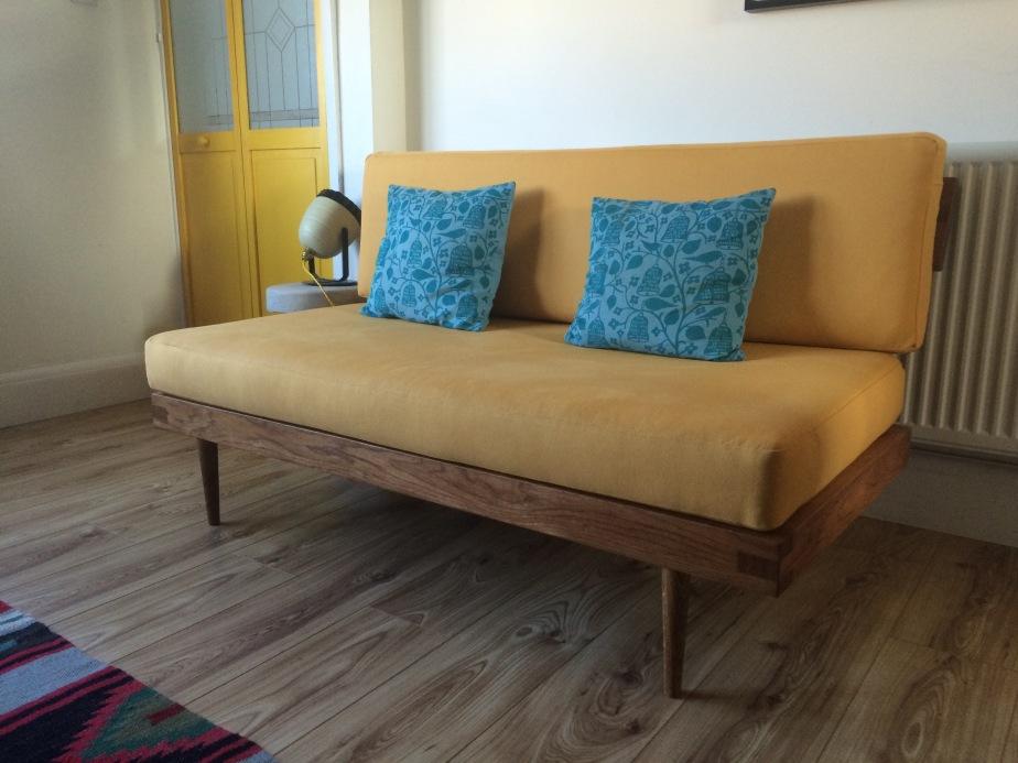 Mid Century Inspired Sofa